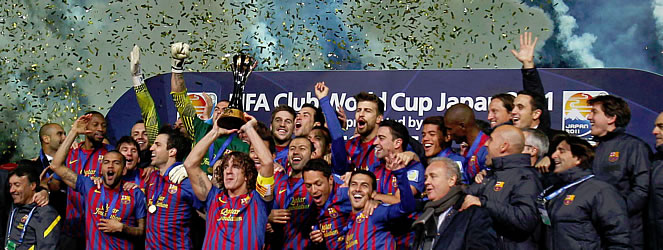 Barcelona Campeon Mundial De Clubes 2011