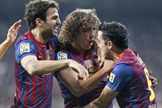 Real Madrid 1-Barcelona 2-Copa del Rey 2011-2012