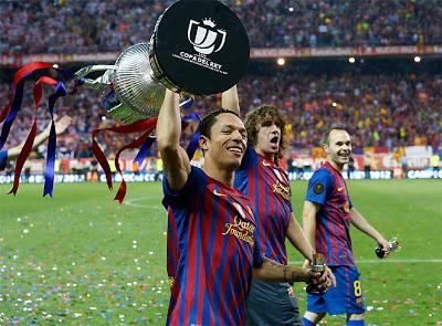 barcelona campeon copa del rey 2012 pujol