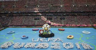 Ceremonia inaugural Eurocopa 2012