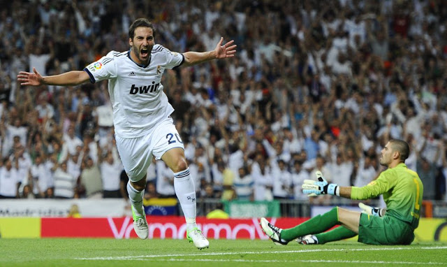 higuaín supercopa 2012 real madrid campeon