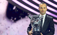 Andrés Iniesta UEFA Best Player 2012