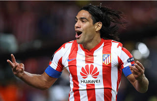 Redamel falcao atletico de madrid 2012
