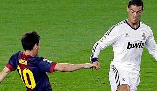 Messi y Ronaldo 2012