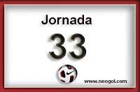 partidos jornada 33 liga española 2013