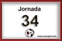 jornada 34 liga española
