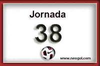 jornada 38 liga española 2013