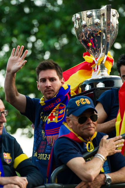 barcelona campeon 2012-2013 leo messi