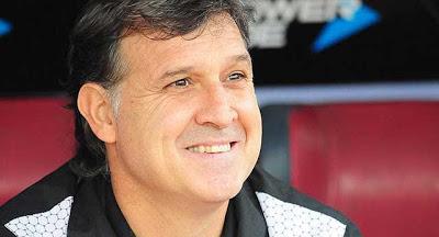 Tata Martino en el barcelona f.c