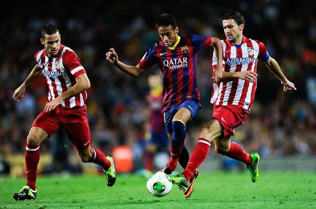 Neymar se lleva la pelota supercopa
