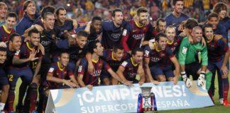 Imágenes Barcelona Campeón Supercopa de Epaña 2013