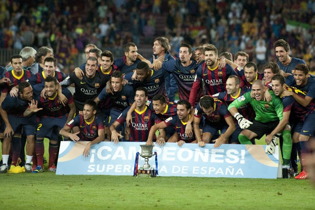Barcelona campeón Supercopa de España 2013