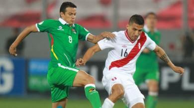 Perú 1-1 Bolivia Eliminatoria Brasil 2014