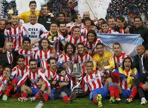 Atlético Madrid Campeón Copa del Rey 2013
