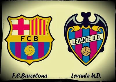 Alineación y la previa Barcelona-Levante. Copa del Rey ...