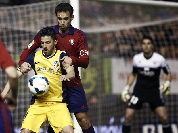 Osasuna vs. Atlético Madrid 2014