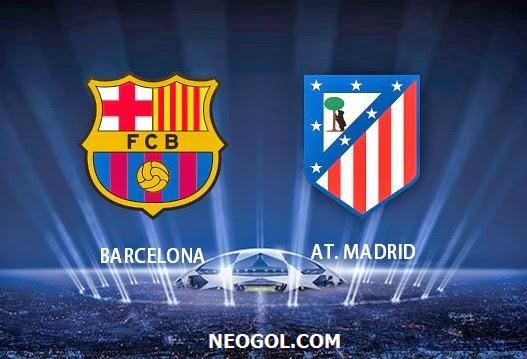 Alineación y la previa Barcelona-Atlético Madrid. Cuartos Champions ...