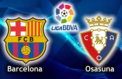 Alineación y la previa Barcelona-Osasuna. Jornada 28