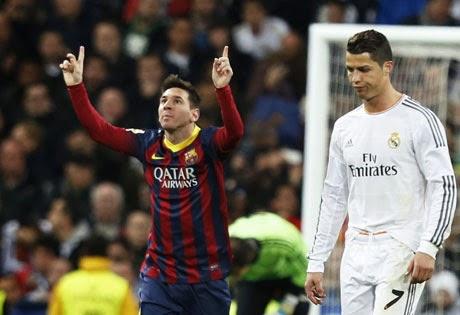 Real Madrid 3-Barcelona 4. Jornada 29 Liga Española
