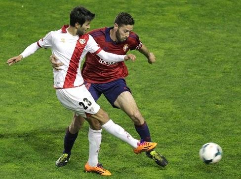 Rayo Vallecano 1-Osasuna 0. Jornada 30 Liga Española