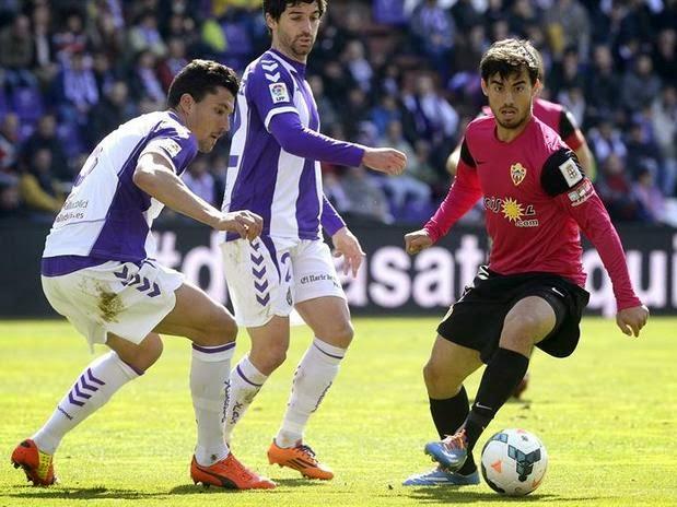 Valladolid 1-Almería 0. Jornada 31 Liga Española