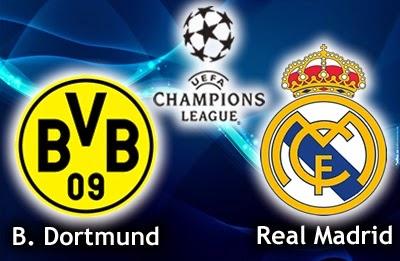 Alineación y la previa Borussia Dortmund-Real Madrid. Cuartos ...