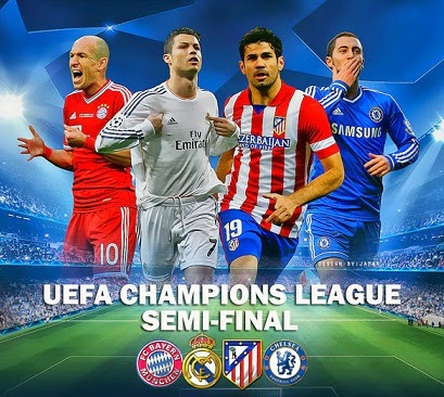 Semifinales Champions League 2013-2014