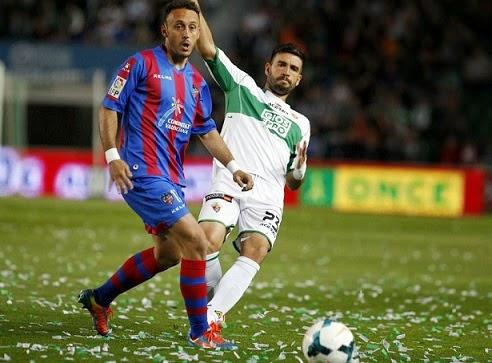 Elche 1-Levante 1. Jornada 35 Liga Española
