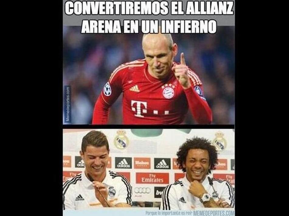 Los mejores chistes y memes del Bayern-Real Madrid. Champions League