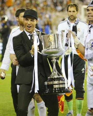 Imágenes Real Madrid Campeón Copa del Rey 2014