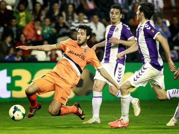 Valladolid 0-Valencia 0. Jornada 32 Liga Española