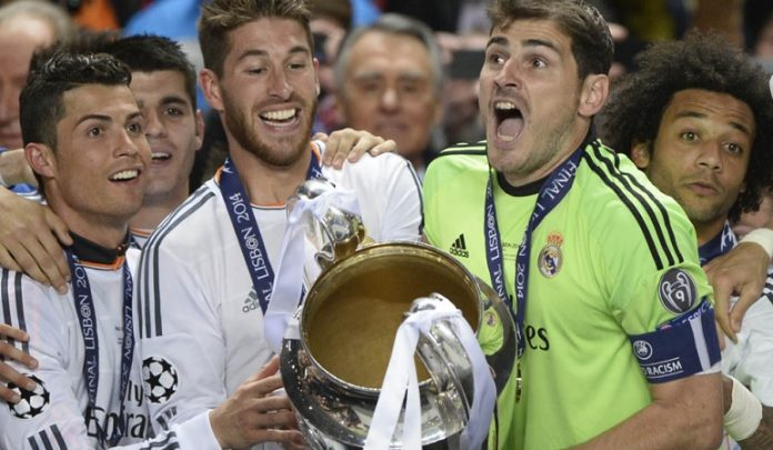 imágenes real madrid champions 2014