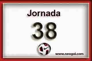 Partidos Jornada 38. Liga Española 2014