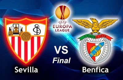 Alineación Sevilla-Benfica. Final Europa League 2014