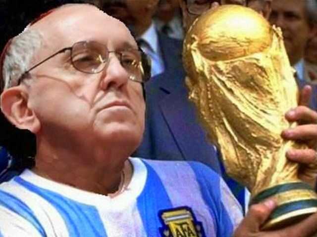 Los mejores chistes y memes de Argentina-Nigeria: Mundial Brasil papa francisco