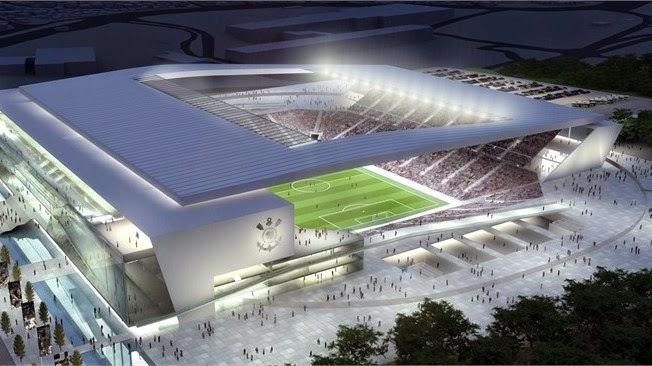 Estadio Arena Corinthians, Sao Paulo. Mundial Brasil 2014