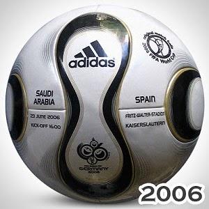 Balón Mundial Alemania 2006 +teamgeist