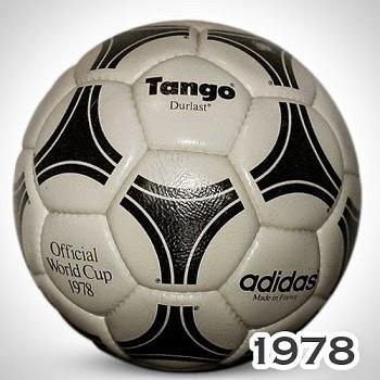 Balón Mundial Argentina 1978 tango
