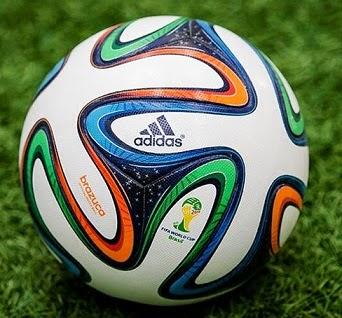 Balón Mundial Brasil 2014 brazuca