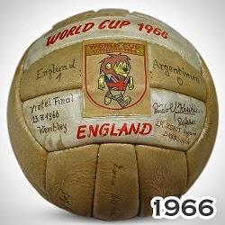 Balón Mundial Inglaterra 1966 Slazenger Challenge