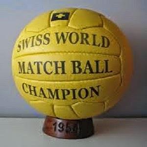 Balón Mundial Suiza 1954 Swiss World Champions