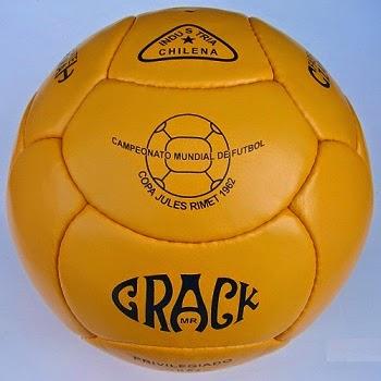 Balón Mundial Chile 1962 Crack
