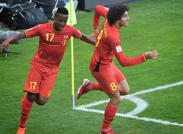 Bélgica 2-Argelia 1. Mundial Brasil-Grupo H