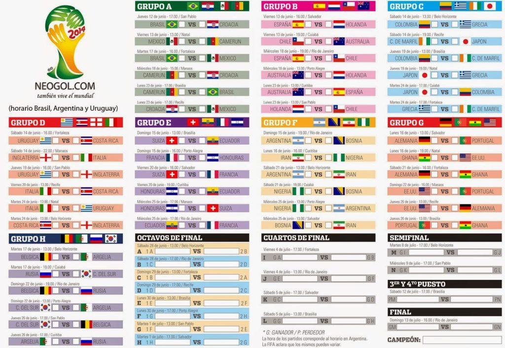 Calendario Eliminatorias 2018 De Colombia