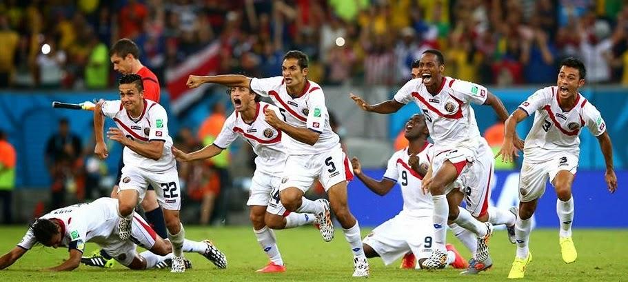 Costa Rica en cuartos tras vencer a Grecia en los penales