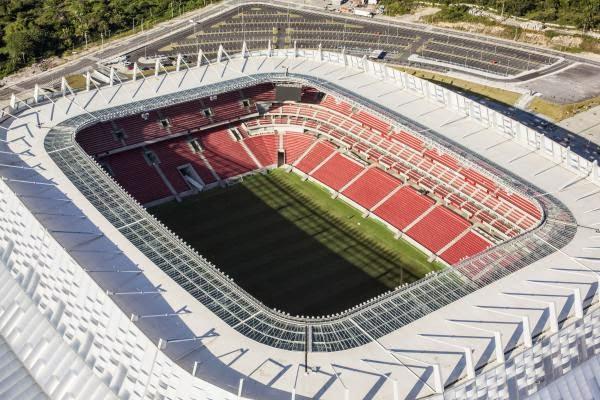 Estadio Arena Pernambuco, Recife. Sedes del Mundial