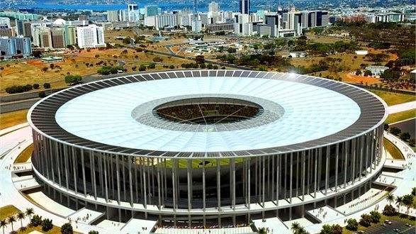 Estadio Mané Garrincha, Brasilia Mundial Brasil 2014