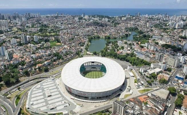 Estadio Fonte Nova, Salvador de Bahía. Sedes del Mundial