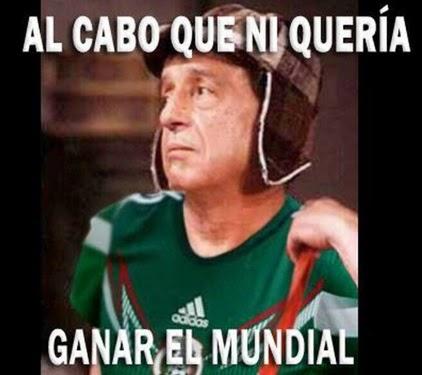 Los mejores memes y chistes del partido Holanda-México: Mundial Brasil chavo del ocho