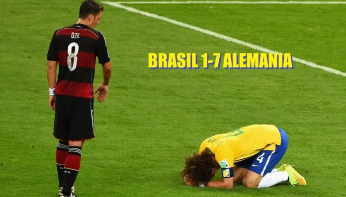 Brasil Alemania 2014